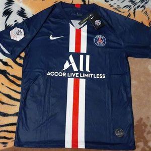 Nike MBappe #7 PSG Home Jersey - France Ligue 1